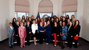 The Nevada legislature is making history, OpEd by Swanee Hunt