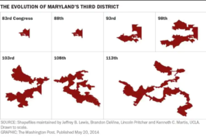 What 60 Years of Political Gerrymandering Looks Like